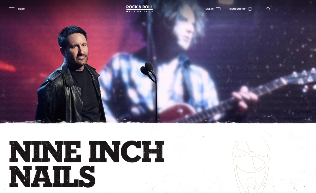 Nine Inch Nails - Rock&Roll Hall of Fame